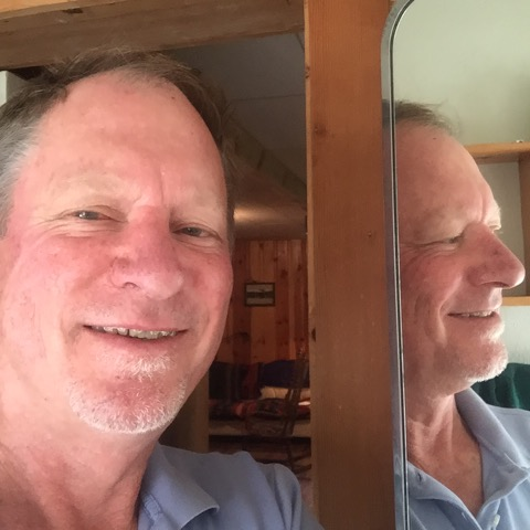 Larry in Mirror